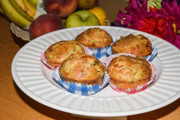 groentemuffins met courgette en kaas