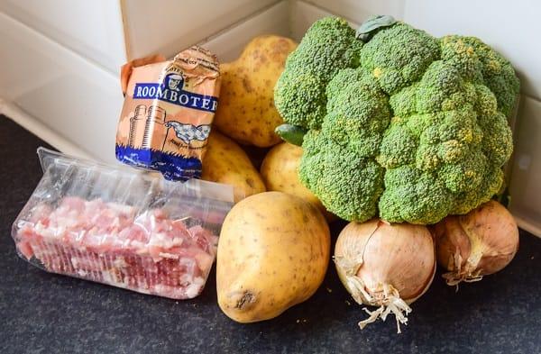 broccoli-stamppot-ingredienten