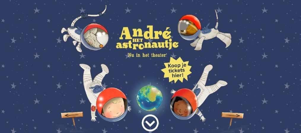andre astronautje doeboek