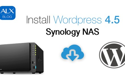 Installation WordPress 4 auf Synology NAS