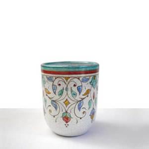 Lapicero de ceramica verde
