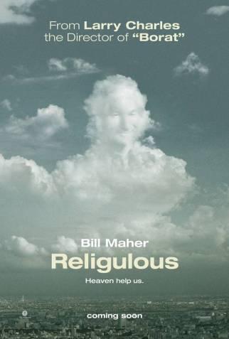 """Adı """"religious"""" (dindar) ve """"ridiculous"""" (saçma) sözcüklerinin birleşiminden oluşan bu film Bill Maher dehasının ve hazırcevaplığının bir ürünü. Film değil aslında, belgesel desek daha doğru olur. Maher bu belgesel boyunca farklı lokasyonlarda farklı bir sürü insanla Tanrı ve din üzerine sohbet ediyor. O kadar güzel sorular, cevaplar ve sohbetler var ki, izleyen kişinin keyif almaması imkansız. Her şey bir yana, belgesel, Maher'ın sorduğu ultra mantıklı sorular ve verdiği cevaplardan dolayı çok komik. Bu yapımın, şuradan ulaşabileceğiniz bir de web sitesi var."""