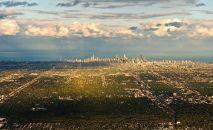 ABD – Chicago'nun kuşbakışı görünümü