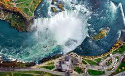 ABD – Niagara Şelalesi'nin kuşbakışı görünümü