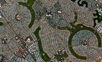 ABD – Sun City'nin kuşbakışı görünümü