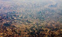 ÇİN – Shanghai'nin kuşbakışı görünümü