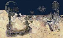 DUBAİ – Sahil kesiminin kuşbakışı görünümü