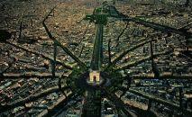 FRANSA – Paris'in kuşbakışı görünümü