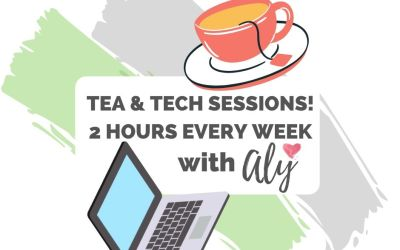 Tea and Tech Training Sessions Weekly