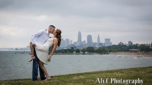 Edgewater Park engagement session | Cleveland