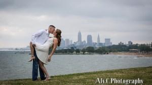 Edgewater Park engagement session | Cleveland