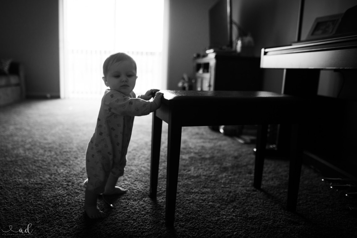 Aly Dawn Photography A Boy Learning How to Stand
