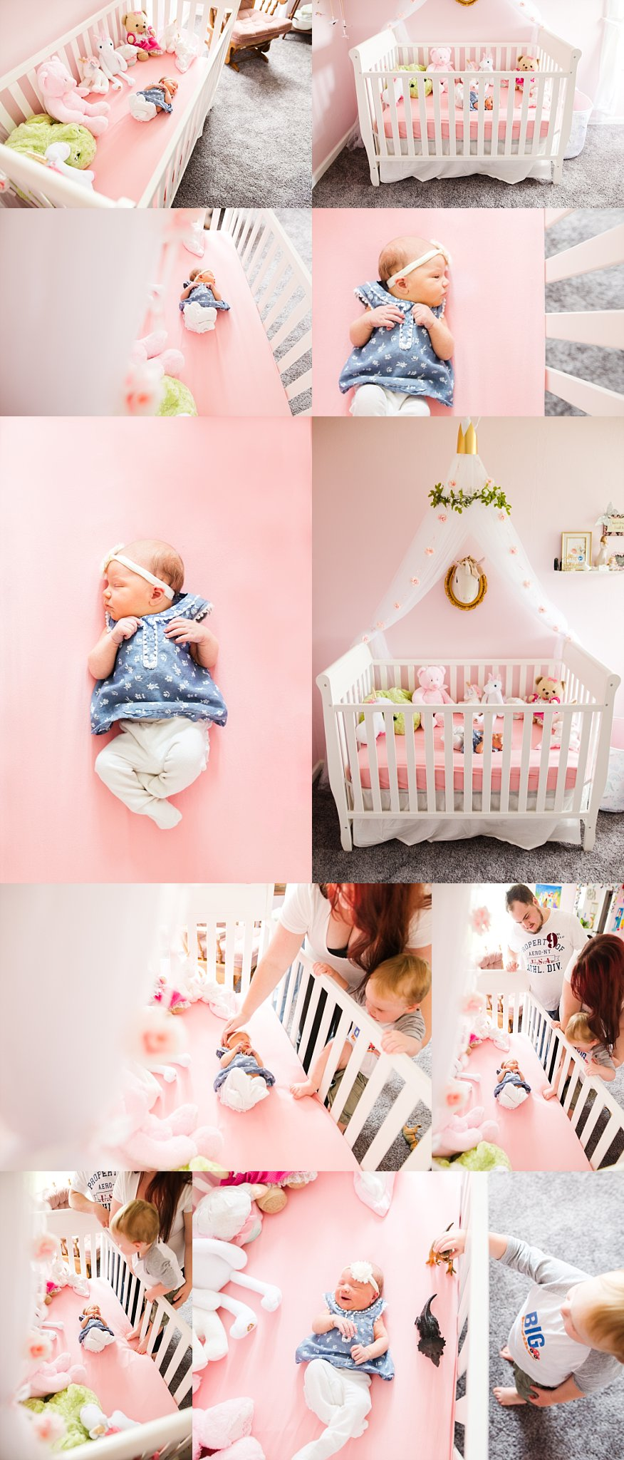 Pink Newborn Nursery