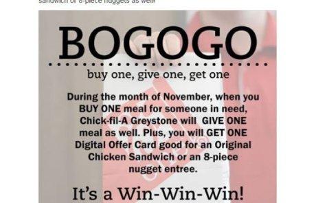 Chick-fil-A's BOGOGO Campaign