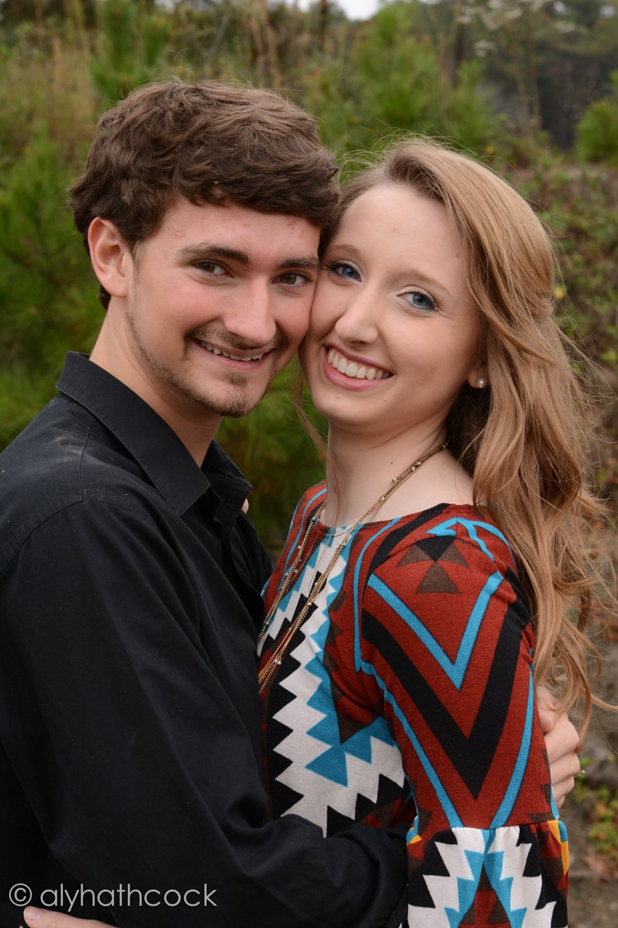 Jack and Sarah made a gorgeous couple to photograph here in Alabama