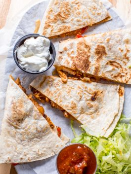 Restaurant-Quesadillas