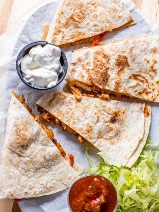 Restaurant-Quesadillas