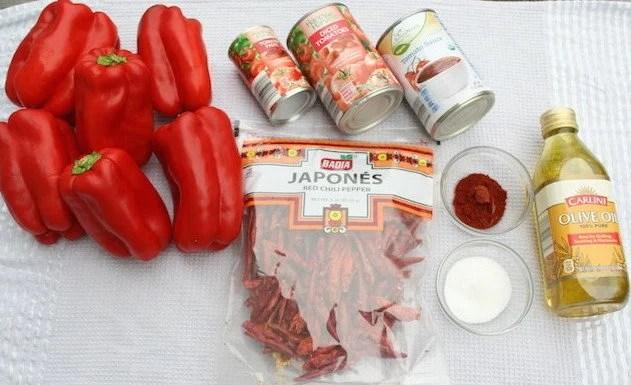 matbucha ingredients