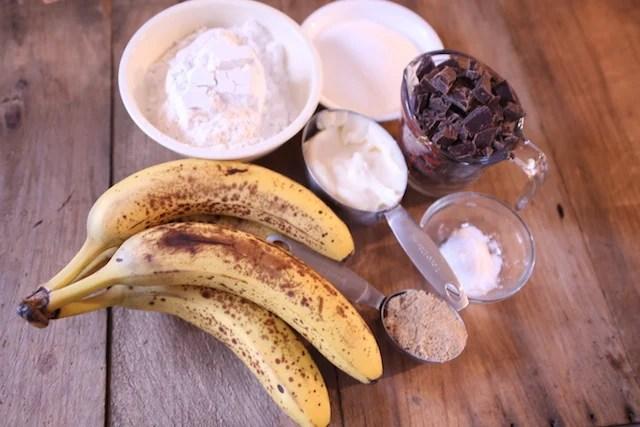 banana muffins ingredients