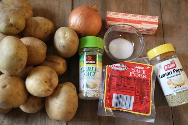 tender potatoes ingredients