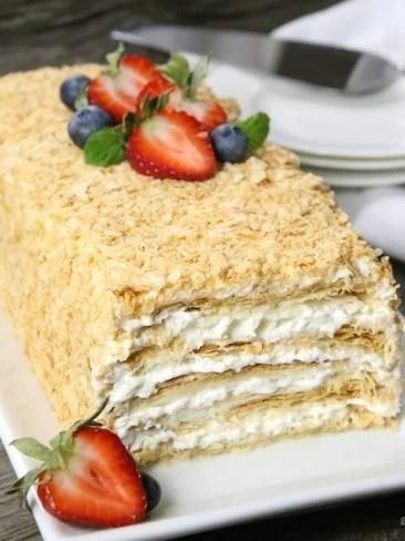 napoleon cake- dessert