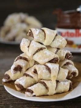 Nutella-rugaliki recipe -rugelach recipe