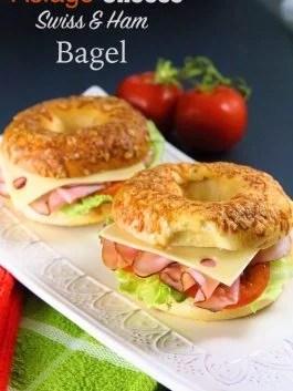 asiago-cheese-bagel-sandwich-ham-swiss
