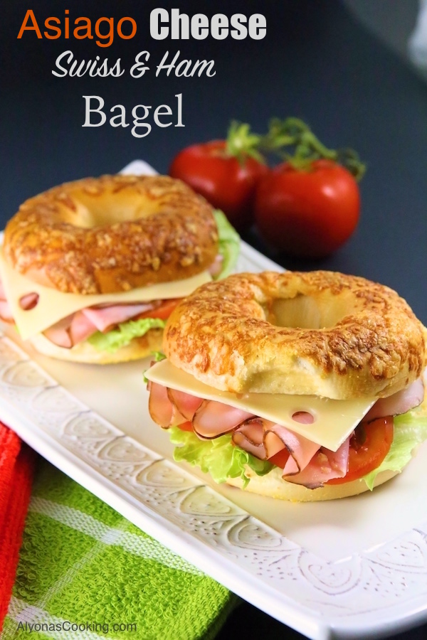 asiago-cheese-bagel-sandwich-ham-swiss