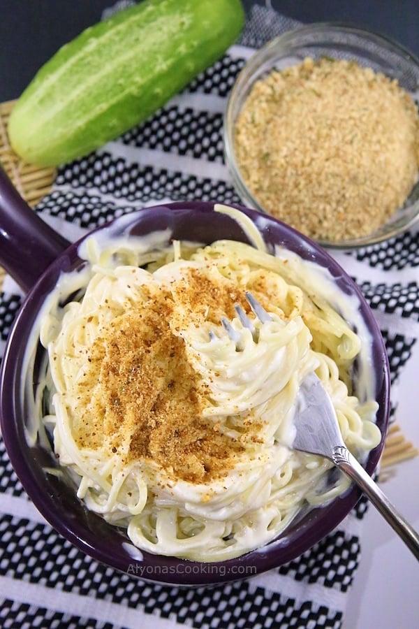 Cream Cheese Pasta, Easy Pasta Recipes, Angel Hair Pasta