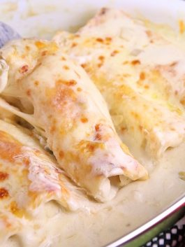 White-chicken-enchiladas