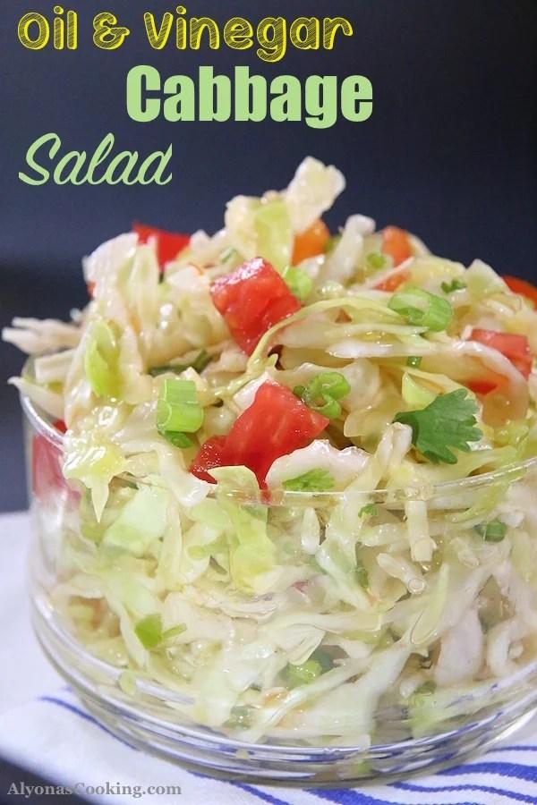 Oli_&_Vinegar_Cabbage_Blend Salad
