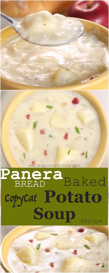 Pin for Baked Potato Soup - Panera Bread Copycat Recipe