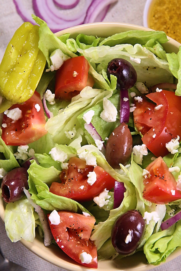 Panera Bread Copycat Greek Salad