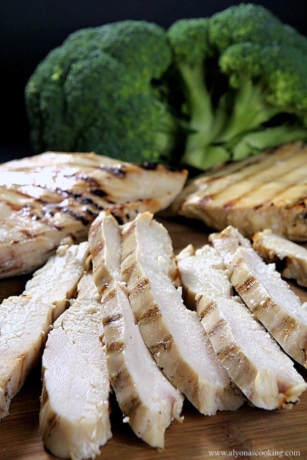 Grilled & Ready To Use Chicken Breast Strips (Freezer Recipe)