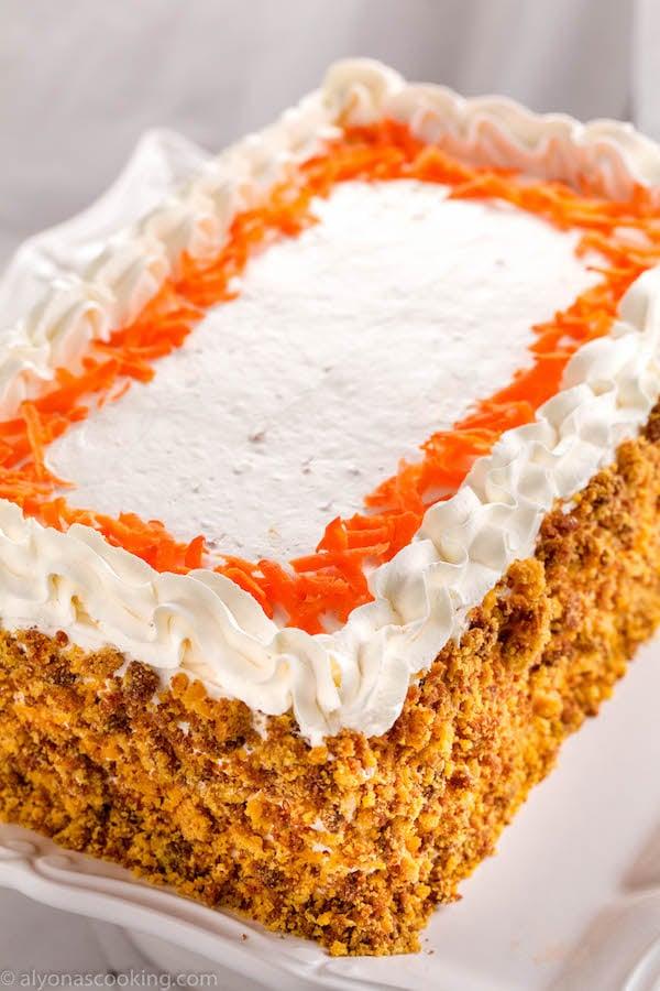 carrot-cake-easy-blender-recipe- alyonascooking-