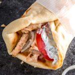 chicken-gyros-with-tzatziki-sauce