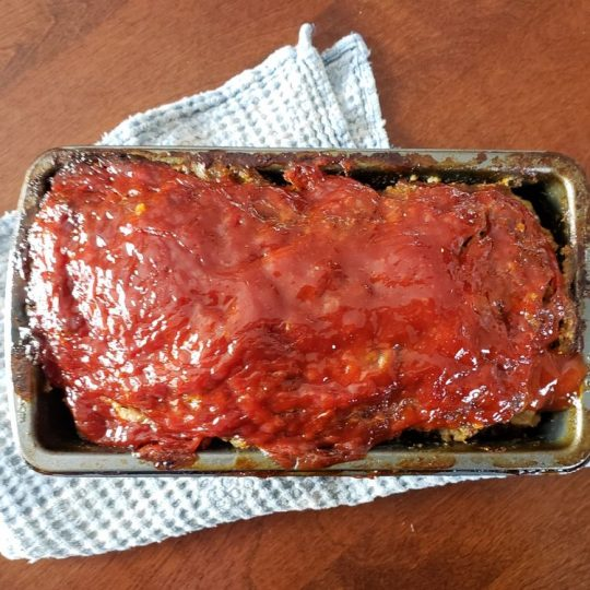 meatloaf in a pan