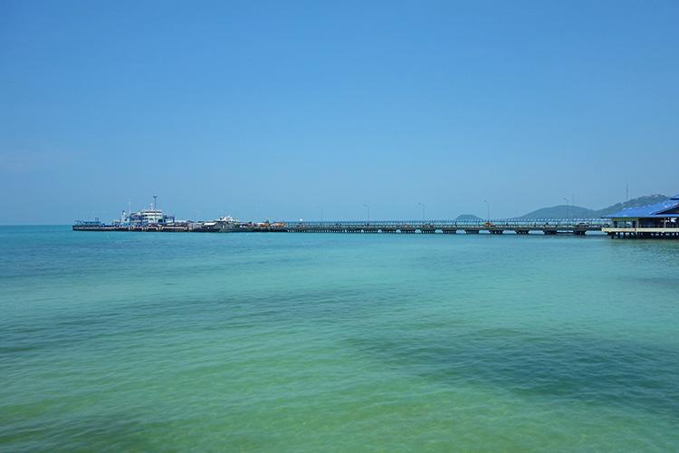 Nathon Pier Koh Samui Thailand