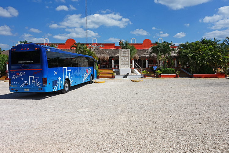 The bus we used for our trip to Chichen Itza