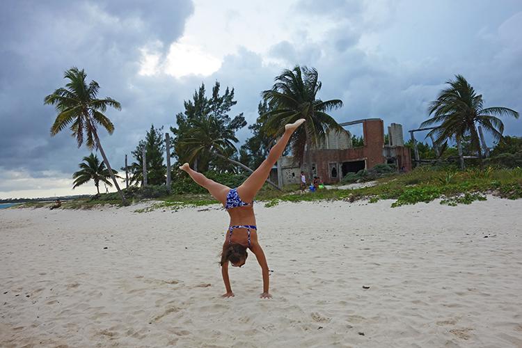 Me Having Fun in Playa del Carmen Mexico