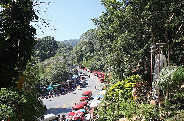Doi Suthep Car Park and Market