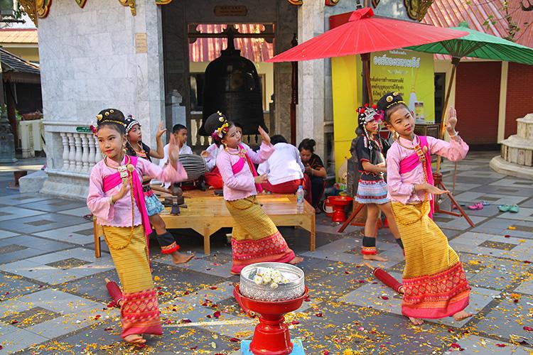 Chiang Mai Doi Suthep Thai Dances