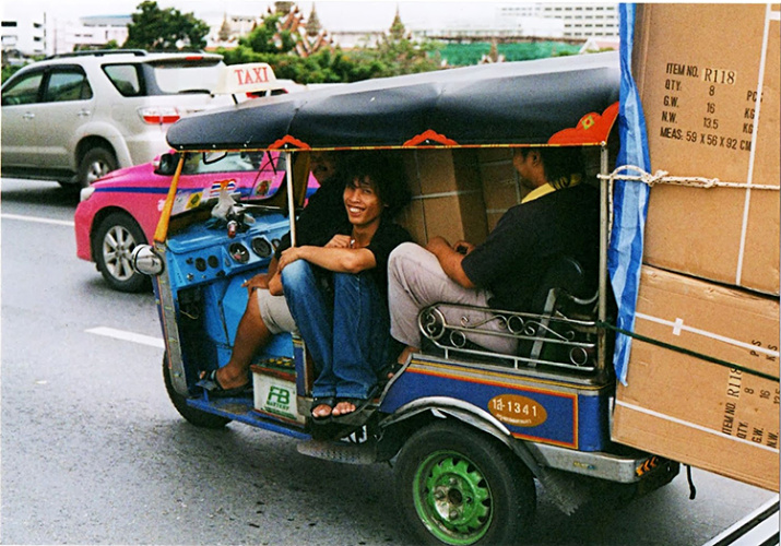 Tuk-Tuk in Bagkok, Photo Courtesy of Mackerelus.blogspot.mx