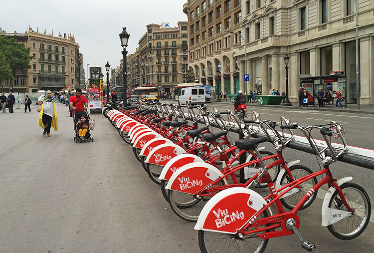 bicing-in-Barcelona