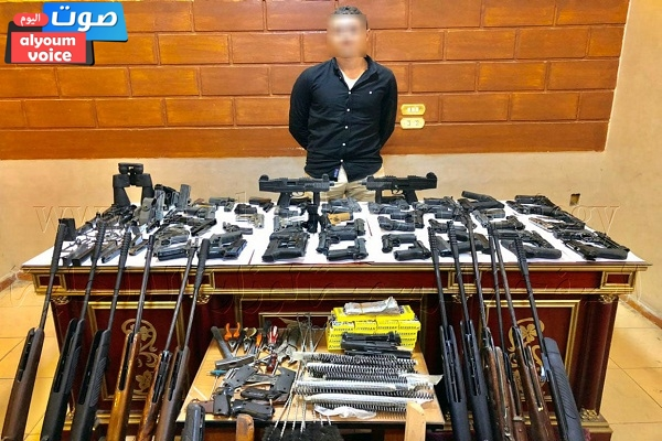 مواصلة الحملات الأمنية لمكافحة حيازة الأسلحة النارية غير المرخصة ضبط 14 قطعة سلاح نارى بأسيوط