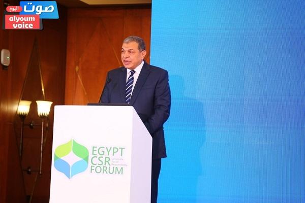 وزير القوى العاملة : القطاع الخاص شريك أساسي للحكومة في تحقيق التنمية المستدامة