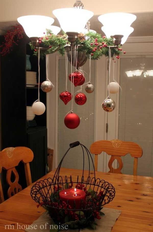 Christmas-Table-Lighting Elegant Christmas Decorating Ideas