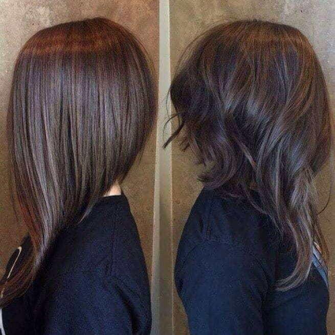 Hybrid 12 Breathtaking Long A-line Haircuts for Women 2020