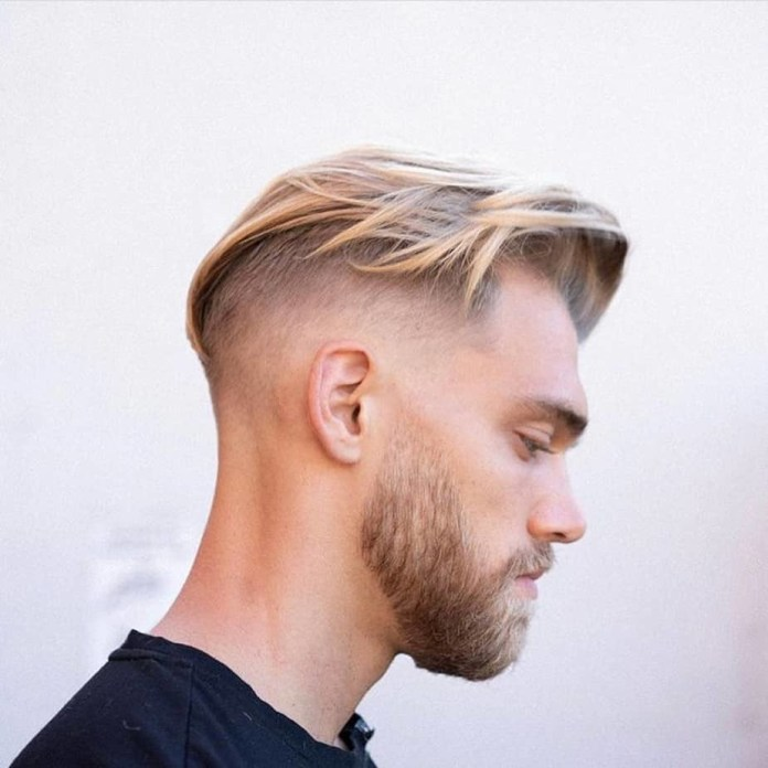 Long-Slicked-Back-Hair-with-Faded-Undercut Mens Hair Trends – Mens Hairstyles 2020