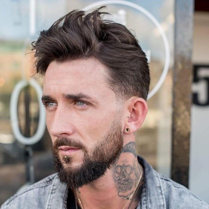 Medium-Length-Wavy-Hair Mens Hair Trends – Mens Hairstyles 2020